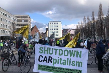 19.3. global climate strike - Kornmarkt - Nürnberg